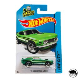 Hot Wheels '70 Ford Mustang Mach 1 HW City