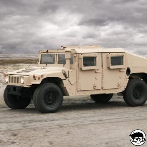 Hot Wheels Humvee real