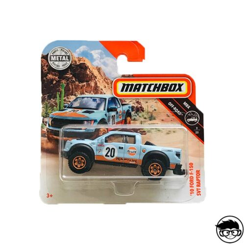 Matchbox '10 Ford F-150 SVT Raptor