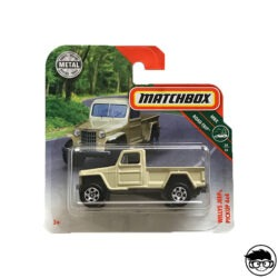 Matchbox Willys Jeep Pickup 4x4
