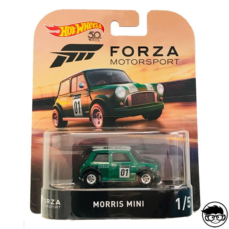 ᐅ Hot Wheels Forza Motorsport Morris Mini Retro Entertainment 1