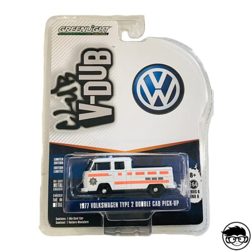 Greenlight 1977 Volkswagen Type 2 Double Cab Pickup