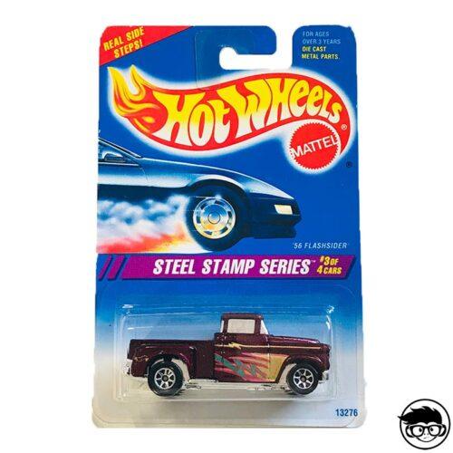 Hot Wheels '56 Flashsider Steel Stamp Series
