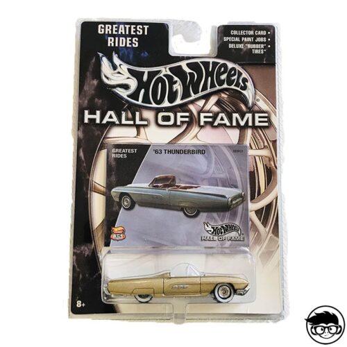Hot Wheels '63 Thunderbird Hall Of Fame