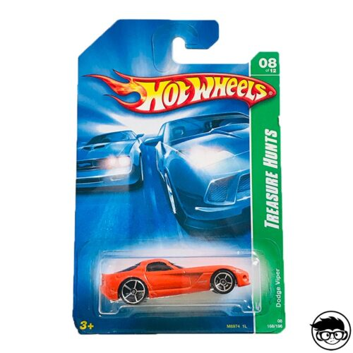 Hot Wheels Dodge Viper Treasure Hunts