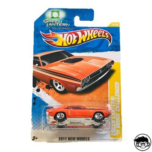 Hot Wheels Green Lantern '71 Dodge Challenger
