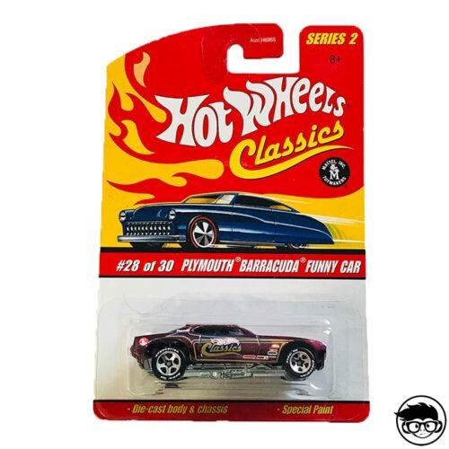 Hot Wheels Plymouth Barracuda Funny Car