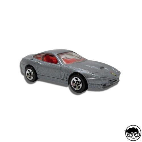 Hot Wheels Ferrari 550 Maranello Collector 2000 nº235 long card