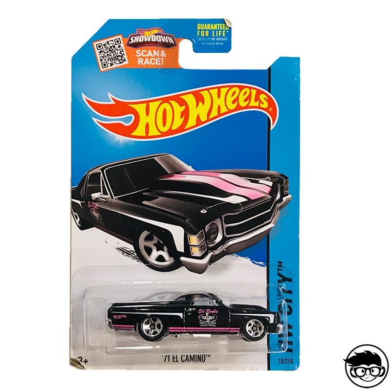 2014 Hot Wheels /'71 El Camino HW City  #18