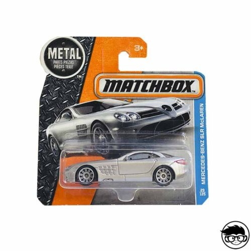 Matchbox Mercedes-Benz Slr Mclaren 29/125 2017 short card