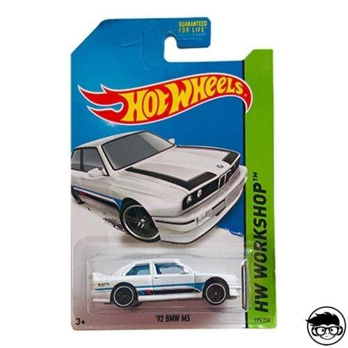 Hot Wheels '92 BMW M3 HW Workshop 195/250 2014 long card