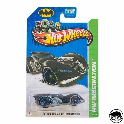 Hot Wheels Batman- Arkham Asylum Batmobile HW imagination 2013 long card