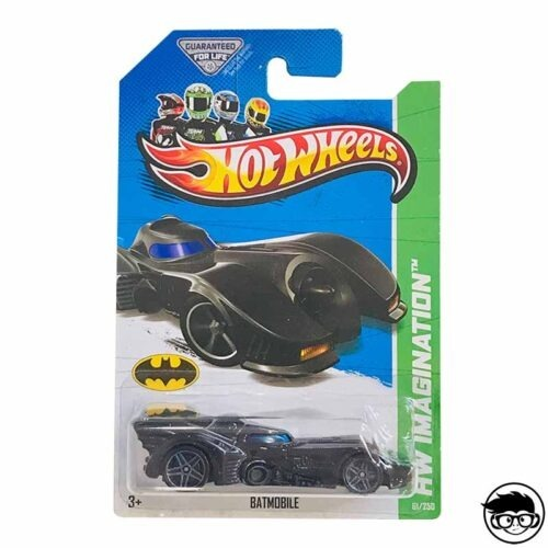 Hot Wheels Batmobile HW Imagination 2013 long card