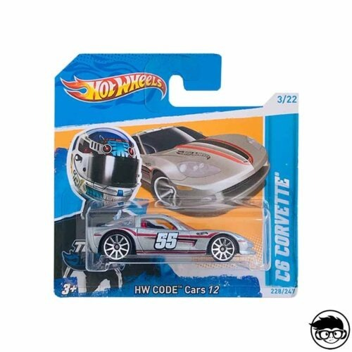 Hot Wheels C6 Corvette HW Code Cars 12 228 247 2012
