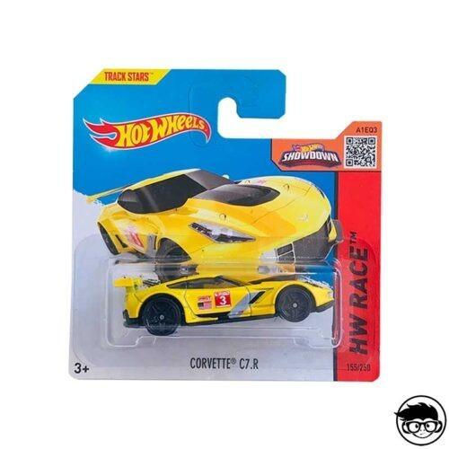 Hot Wheels Corvette C7.R HW Race 155 250 2016 short card
