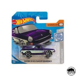 Hot Wheels Custom '69 Volkswagen Squareback Volkswagen 137 250 2019 short card