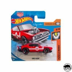 Hot Wheels King Kuda Muscle Mania 140 250 2019 short card