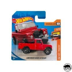 Hot Wheels Land Rover Series III Pickup HW Hot Trucks 111 250 2019 short card