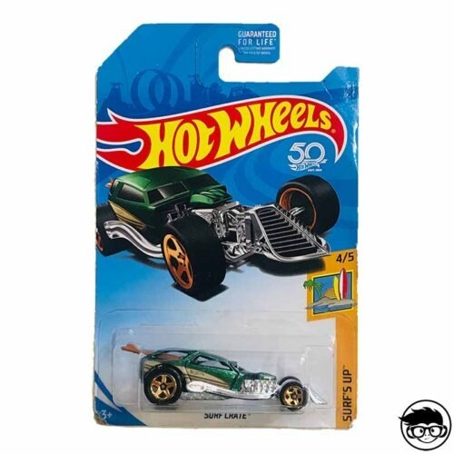 Hot Wheels Surf Crate Surf's Up 4 5 2018 long card