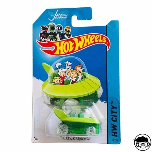 Hot Wheels The Jetsons Capsule Car HW City 2014 90 250 long card