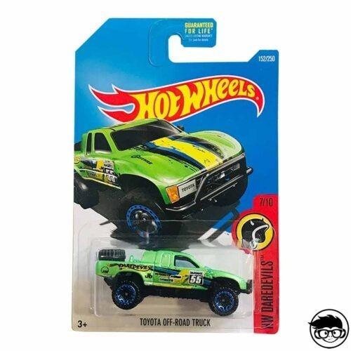 Hot Wheels Toyota Off-Road Truck HW Daredevils 152 250 2016 long card