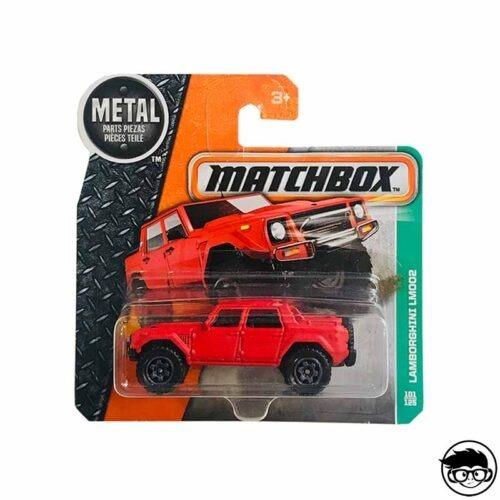 Matchbox Lamborghini LM002 MBX Explorers 101 125 2017 short card