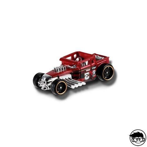 hot-wheels-bone-shaker-red-2019-loose