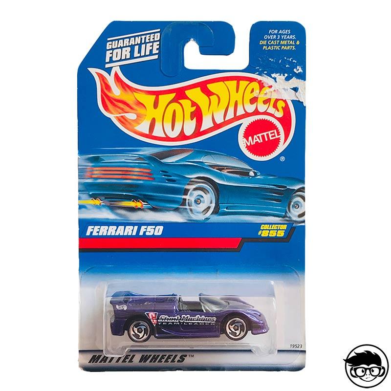 ᐅ Hot Wheels Ferrari F50 1998 Collector Nº 855 Long Card