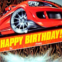 Hot Wheels Happy Birthday