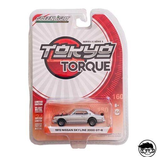 Greenlight Tokyo Torque 1972 Nissan Skyline 2000 GT-R 2019