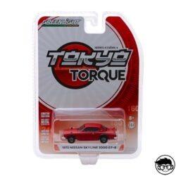 Greenlight Tokyo Torque 1972 Nissan Skyline 2000 GT-R series 4 2019