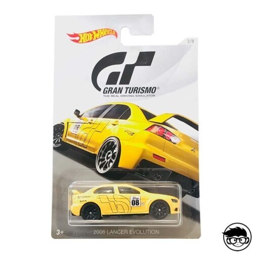 Hot Wheels 2008 Lancer Evolution Gran Turismo 3 8 2018 long card
