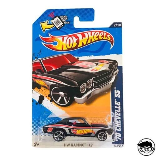 Hot Wheels '70 Chevelle SS HW Racing '12 172 247 2012 long card