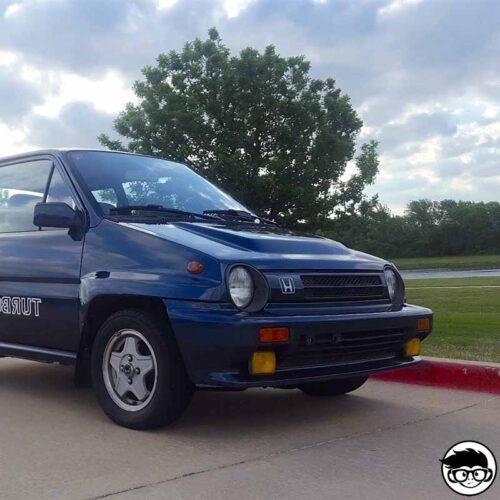 Hot Wheels '85 Honda City Turbo II HW Nightburnerz 81 250 2019 short card real