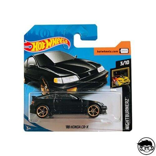 Hot Wheels '88 Honda CR-X Nightburnerz 49 250 2019 short card
