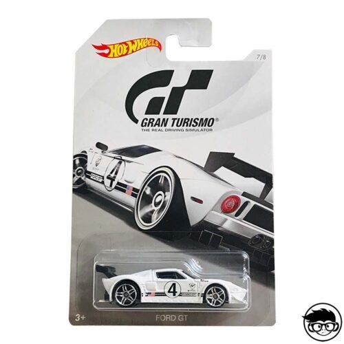 Hot Wheels Ford GT Gran Turismo 7 8 2018 long card