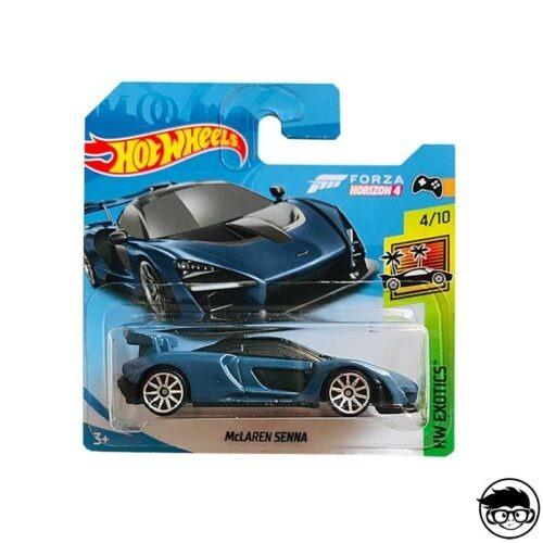 Hot Wheels McLaren Senna HW Exotics 162 250 2019 short card