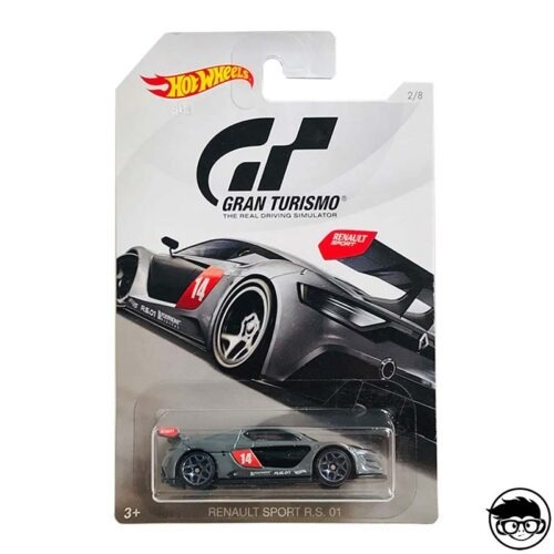 Hot Wheels Renault Sport R.S. 01 Gran Turismo 2 8 2018 long card