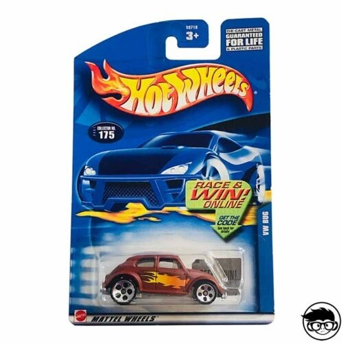 Hot Wheels Volkswagen Baja Bug Collector 2001 nº 175 long card