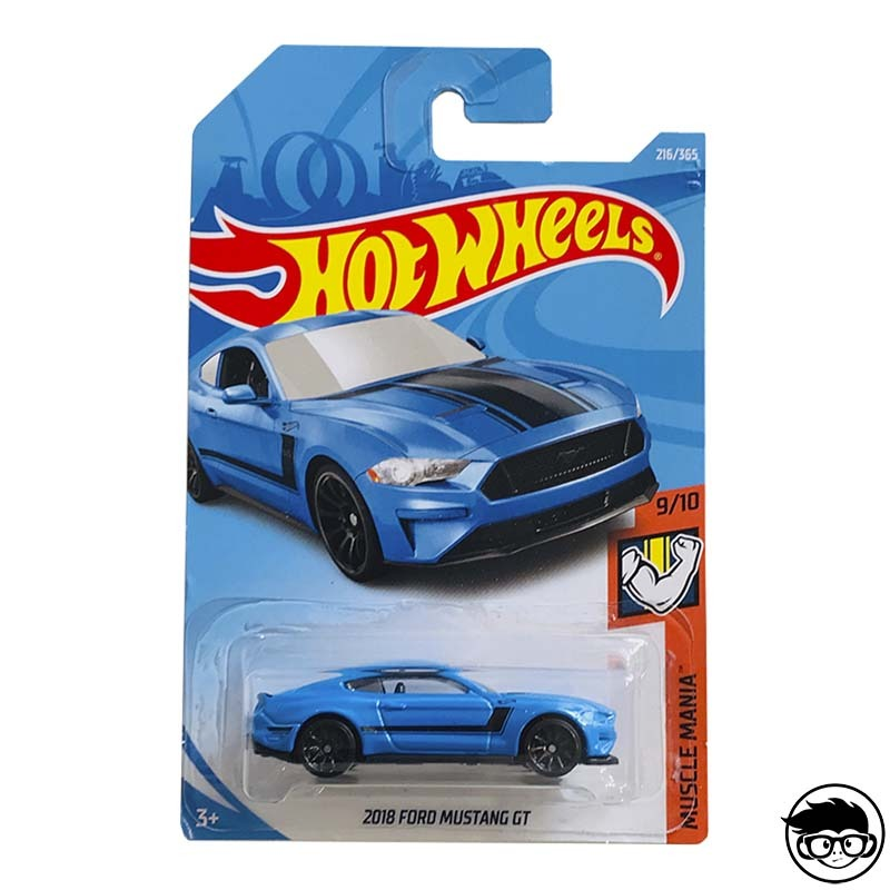 2018 Hot Wheels HW Speed Graphics 4//10 2015 Ford Mustang GT 222//365