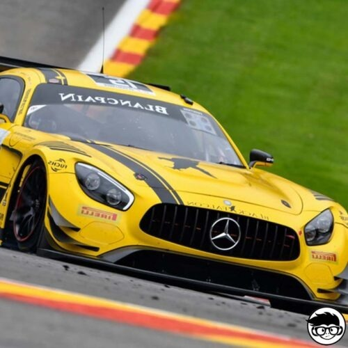 Hot Wheels '16 Mercedes-AMG GT GT3 HW Race day 74/250 2019 short card