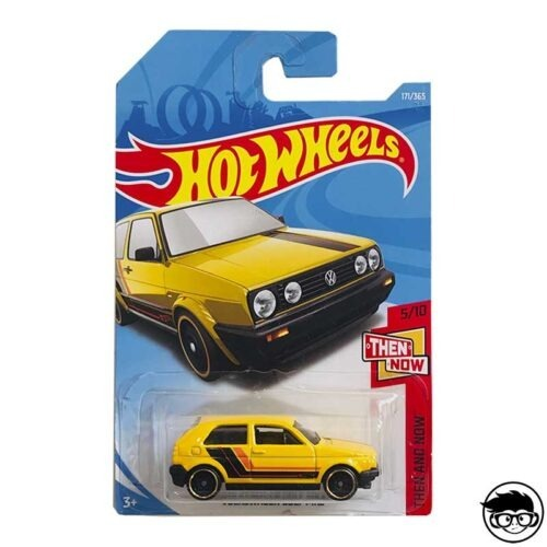 Hot Wheels Volkswagen Golf MK2 Then And Now 171/365 2017 long card