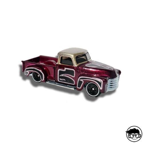 Hot Wheels '53 Chevy Treasure Hunts 12 58 247 2018 short card loose