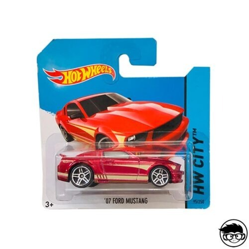 Hot Wheels '07 Ford Mustang HW City 92 250 2014 short card