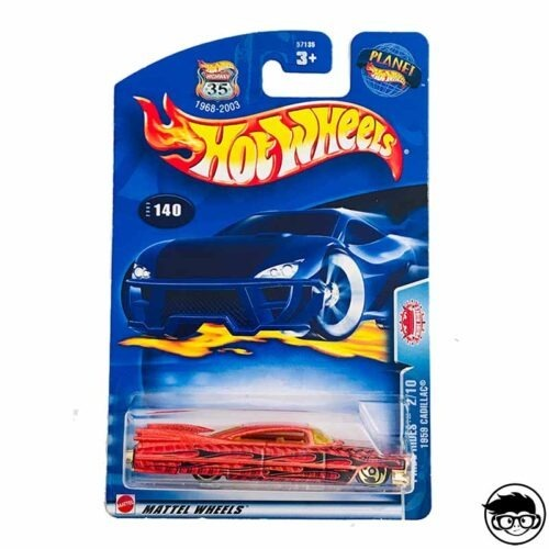 Hot Wheels '59 Cadillac Pride Rides Nº 140 2003 long card