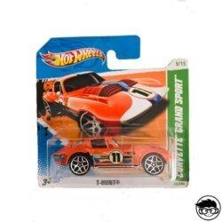 Hot Wheels Corvette Grand Sport T-Hunt 59 244 2011 short card