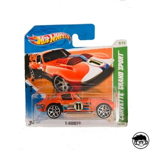 Hot Wheels Corvette Grand Sport T-Hunt 59 244 2011 short card