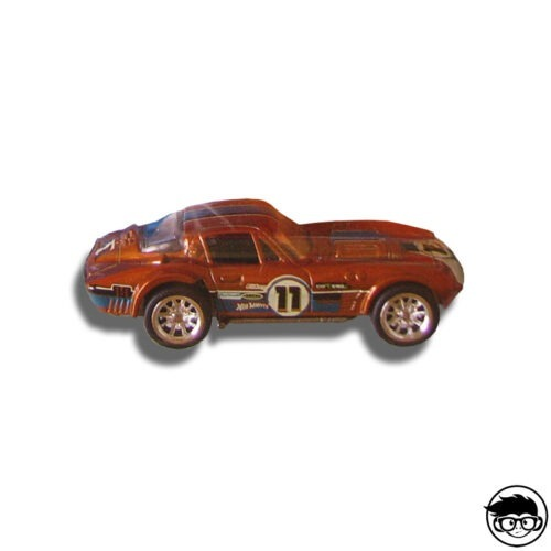 Hot Wheels Corvette Grand Sport T-Hunt 59 244 2011 short card loose