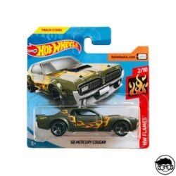 Hot Wheels Ford '68 Mercury Cougar HW Flames 164 250 2019 short card