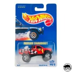 Hot Wheels Nissan Hardbody Collector nº131 1992 long card